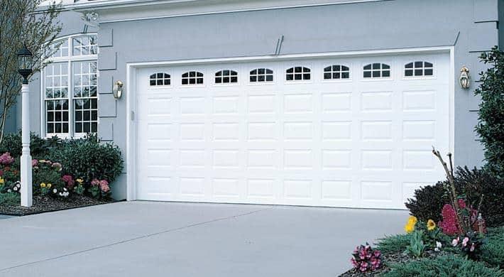 Eurex Garage Doors on a house