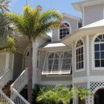 Eurex Exterior Shutters on tan house