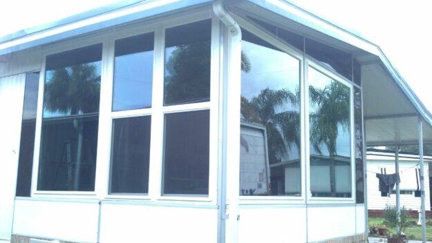 hurricane windows on house