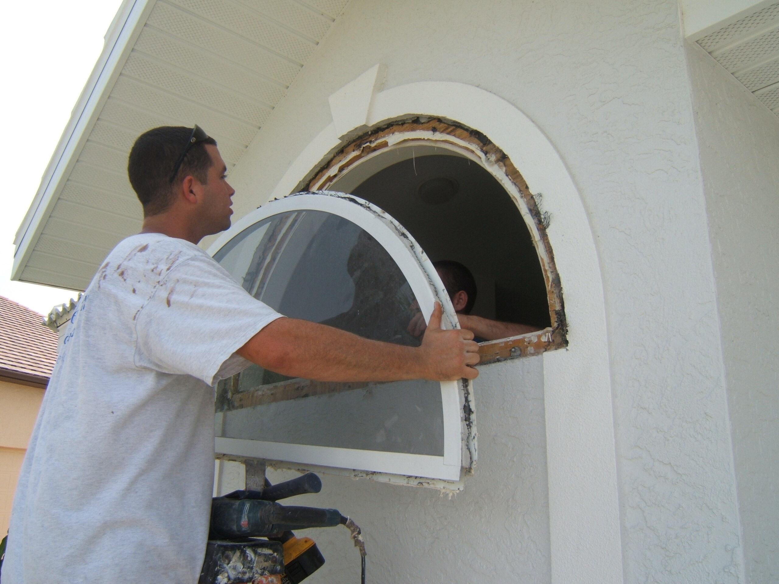 old window removal
