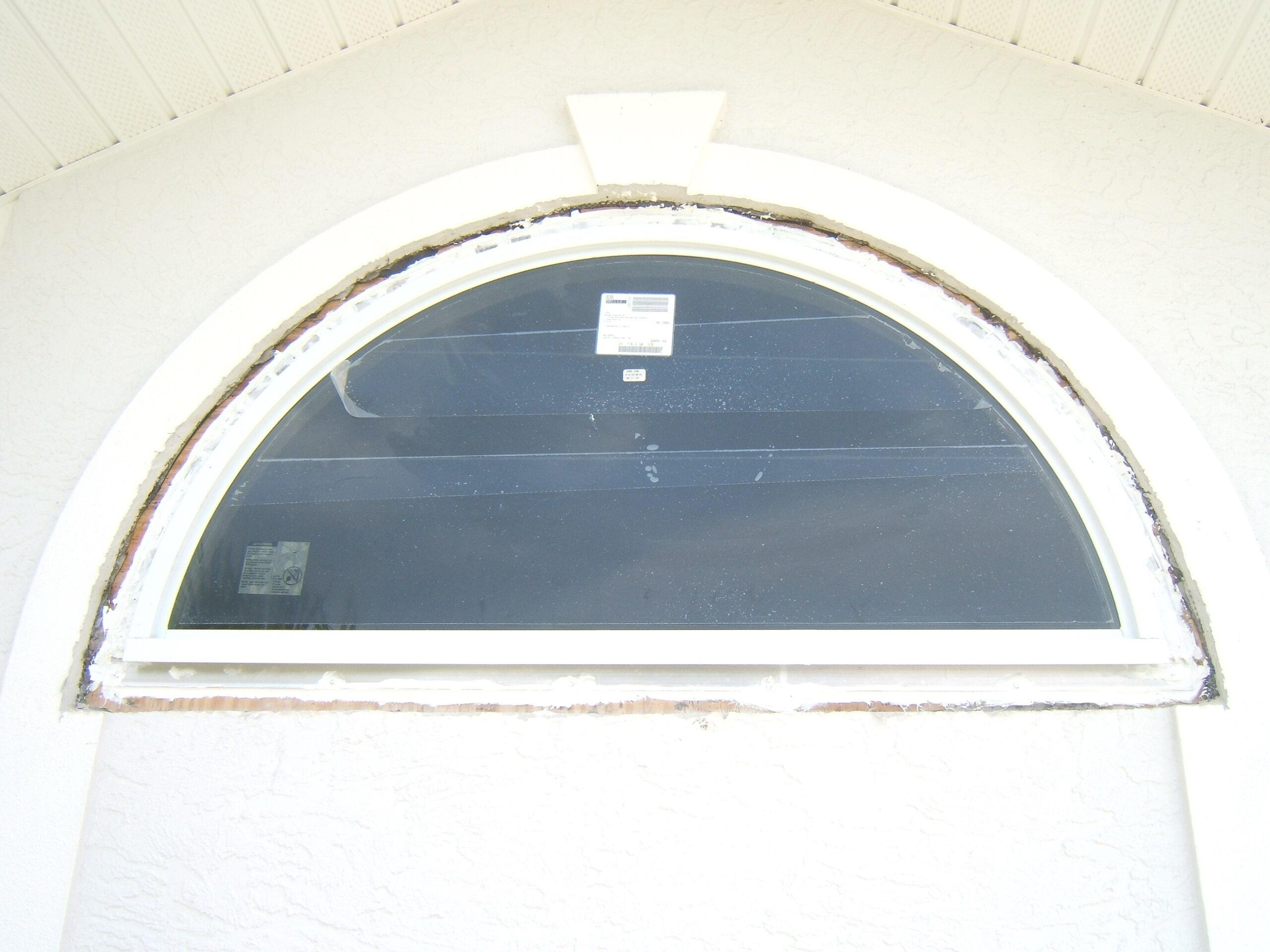 impact window install rough in