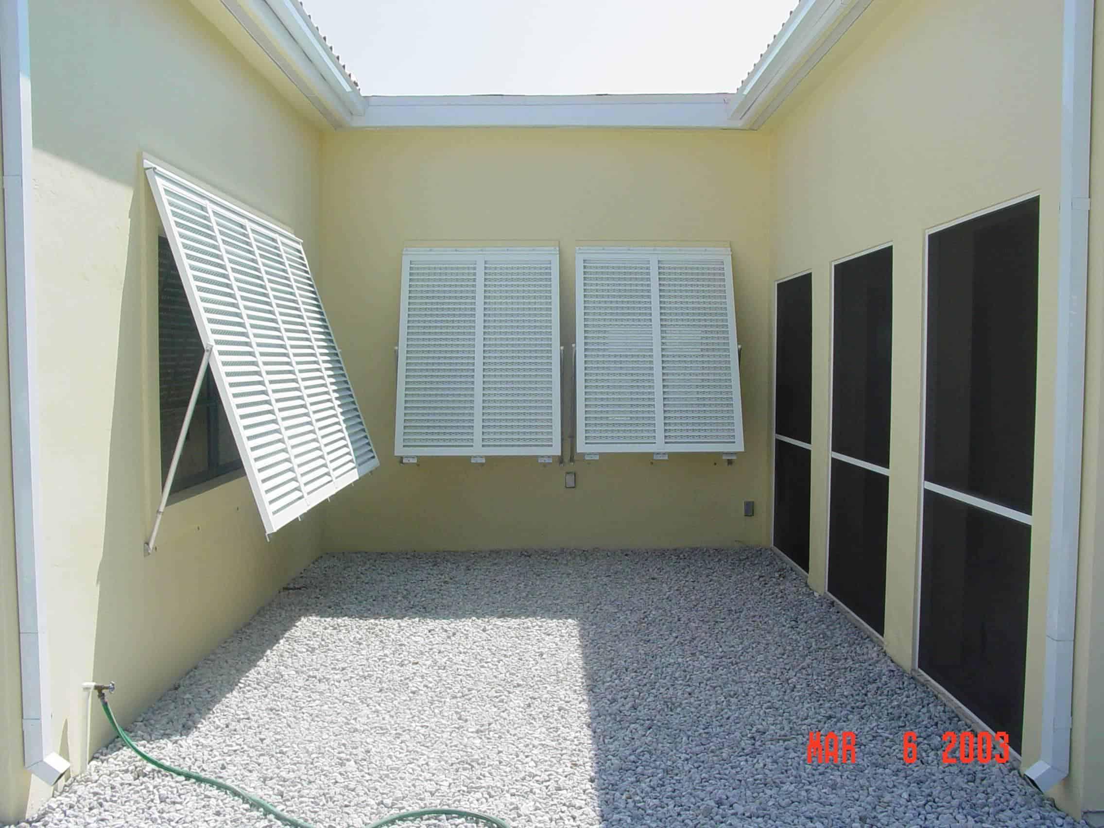 Eurex exterior shutters for windows