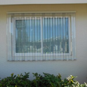 clear panels for window