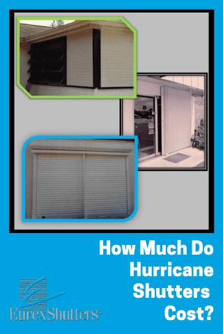 hurricane shutters cost