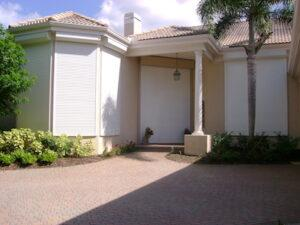 roll down shutters as option for lanai protection