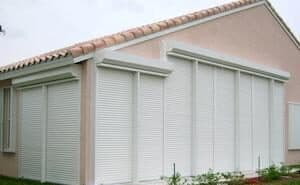 fort myers home with storm shutters
