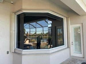 impact glass on a home