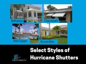 hurricane shutter styles