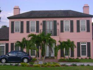 colonial style shutters in port charlotte