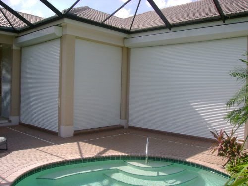 picture of roll down shutters